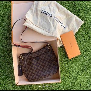 💕Louis Vuitton South Bank Damier Ebene Crossbody